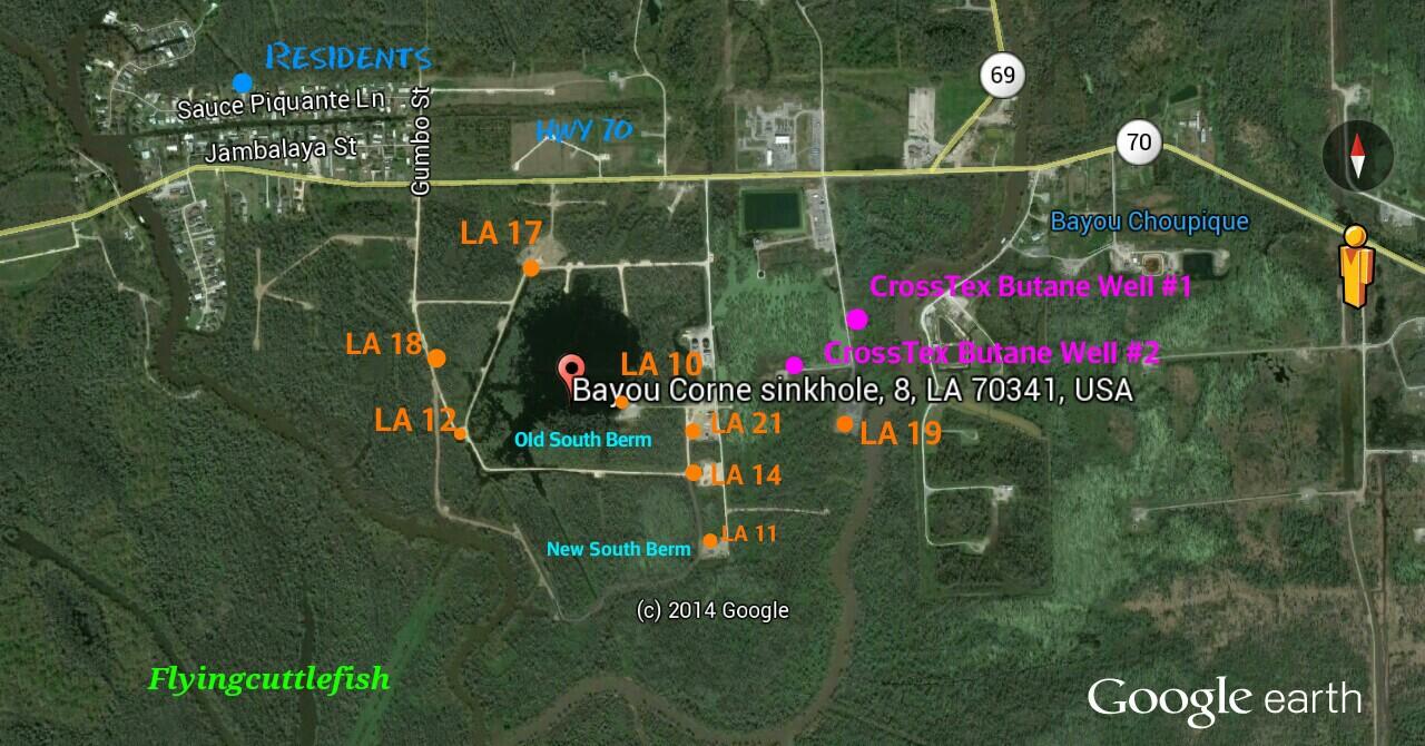 MAPS | The Louisiana Sinkhole Bugle