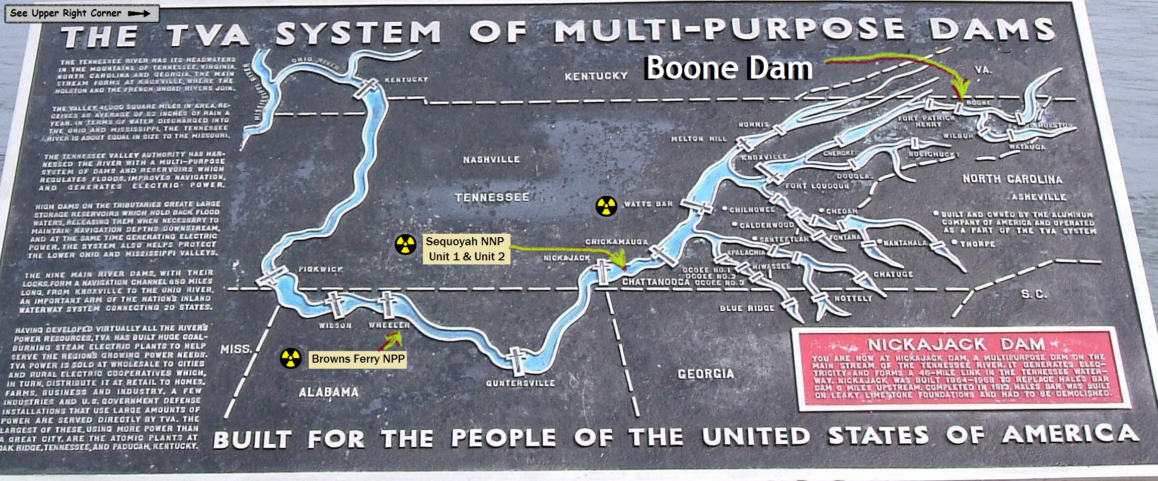 Boone Dam In Tenn Worsens Above Some Nuke Plants The Louisiana - Tva hunting maps