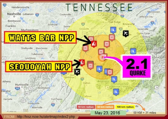 Earthquake In Tennessee Near Two Nuclear Power Plants (This Won't Be A Faux News Special) 52316_tennquake